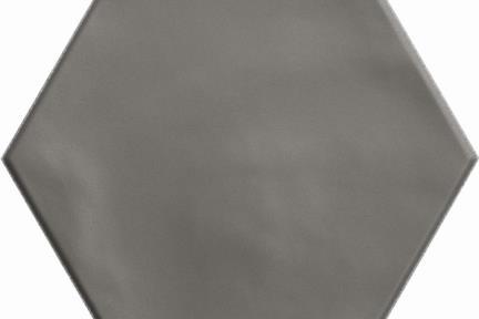 אריחי ריצוף וינטג' סדרת Hexagon 15195. פורצלן משושה אפור מט ענתיקה.  גודל: 15*17.3  נגד החלקה R10