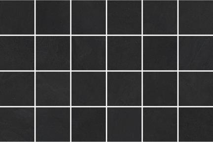 אריחי פסיפס לחיפוי קיר מקרמיקה M348. פסיפס פורצלן שחור  גודל: 30*30