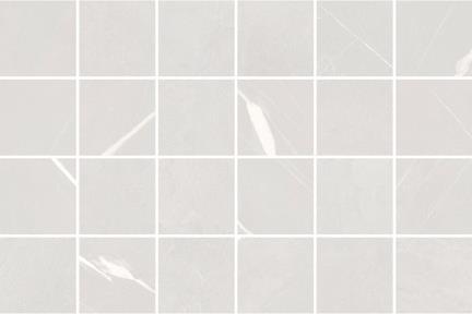 אריחי פסיפס לחיפוי קיר מקרמיקה M341. פסיפס 5 פורצלן מיקס דמוי שיש + חלק אפרפר  גודל: 30*30