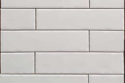 אריחי וינטג' לחיפוי קיר בסגנון עתיק 50280. קרמיקה ענתיקה לבן מבריק  גודל: 20*5