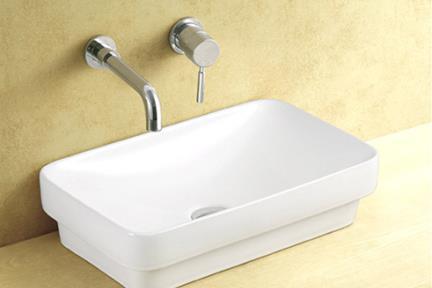 כיור מונח לחדר אמבטיה L493. כיור מונח מלבני  גודל: 30*49