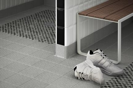 אריחי ריצוף  גרניט פורצלן דמוי אבן 1003226. R11 פורצלן אפור  גודל: 15*15  נגד החלקה  תוצרת EQUIPE  ספרד  נשארה כמות קטנה- נא לברר טלפונית