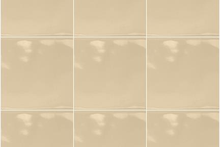 אריחי וינטג' לחיפוי קיר בסגנון עתיק 1001128. מוקה בהיר ענתיקה מבריק  גודל: 15*15