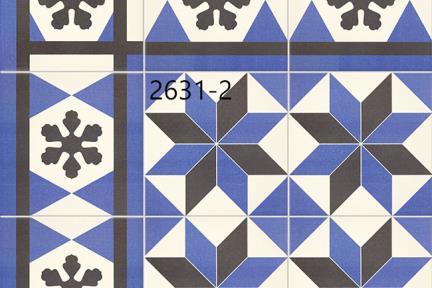 אריחי ריצוף וינטג' סדרת Cordova 2631A.  Size: 20*20
