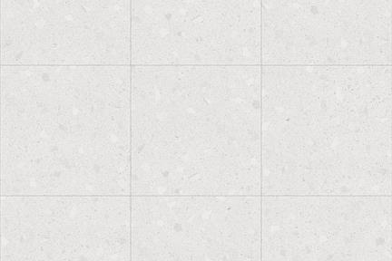דגם 91021. R10 דמוי טראצו רקע לבן + אבנים לבנות   גודל: 120*120  נגד החלקה