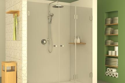 מקלחון חזיתי M500. מקלחון חזית