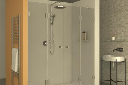 מקלחון חזיתי M501. מקלחות חזית