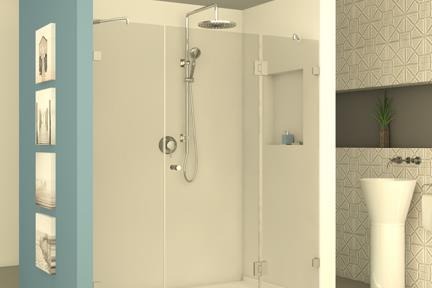 מקלחון חזיתי M505. מקלחון חזית