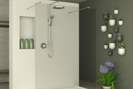 מקלחון חזיתי M509. מקלחון חזית